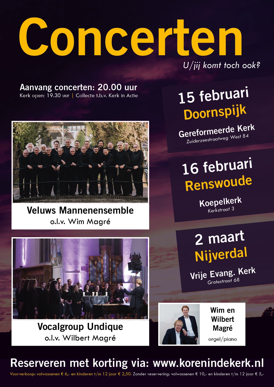 Poster tour kerk in actie 2019